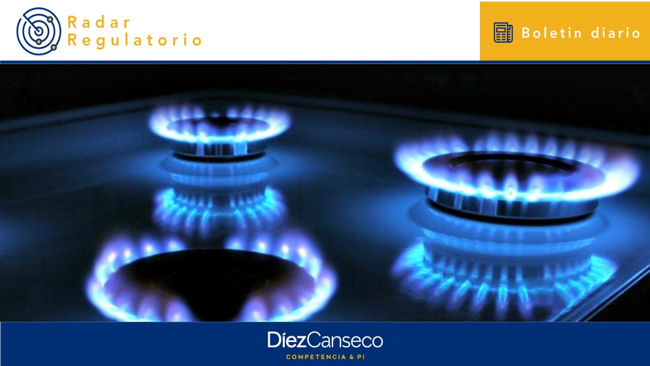 Dictan medidas para asegurar la continuidad del abastecimiento de gas natural