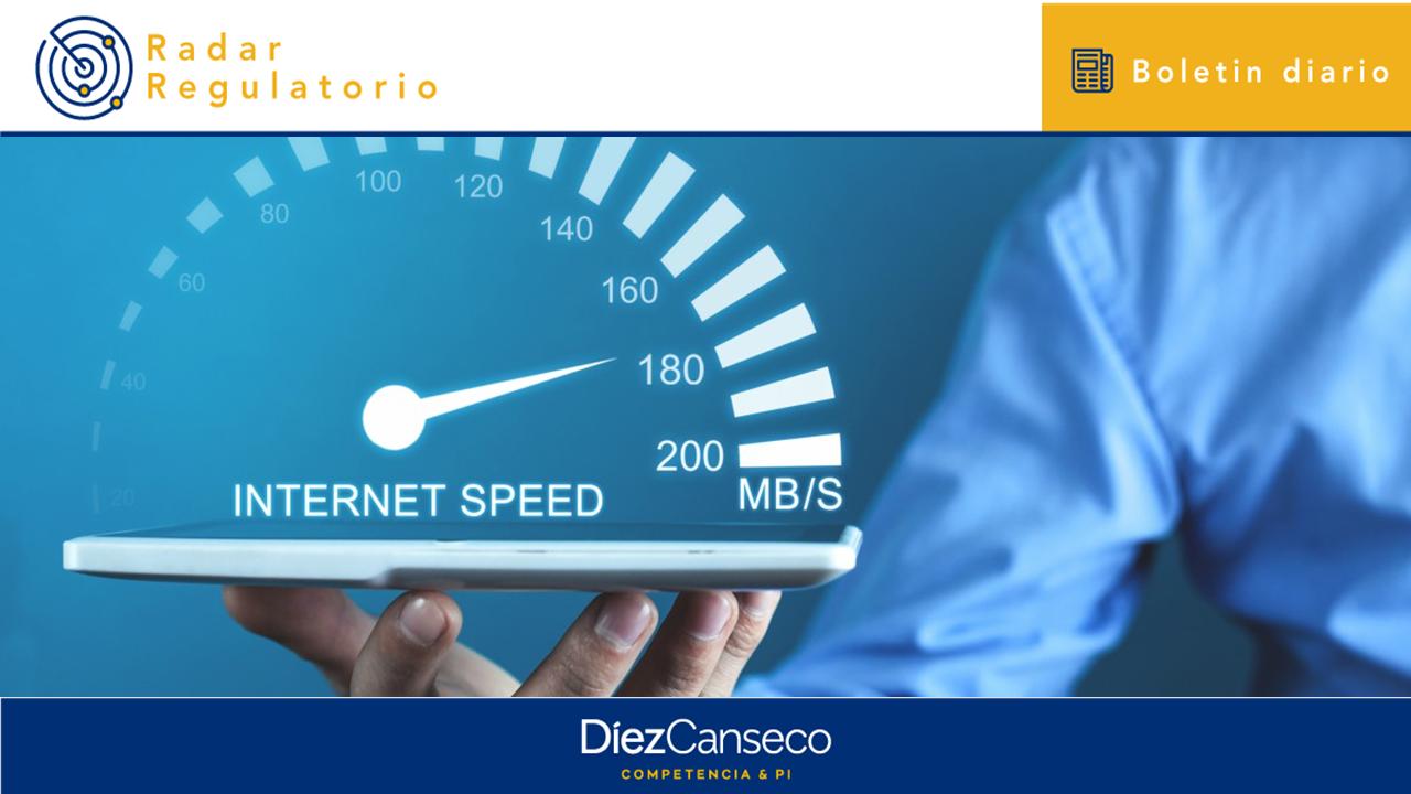 Publican la Ley que garantiza la velocidad mínima de conexión a internet